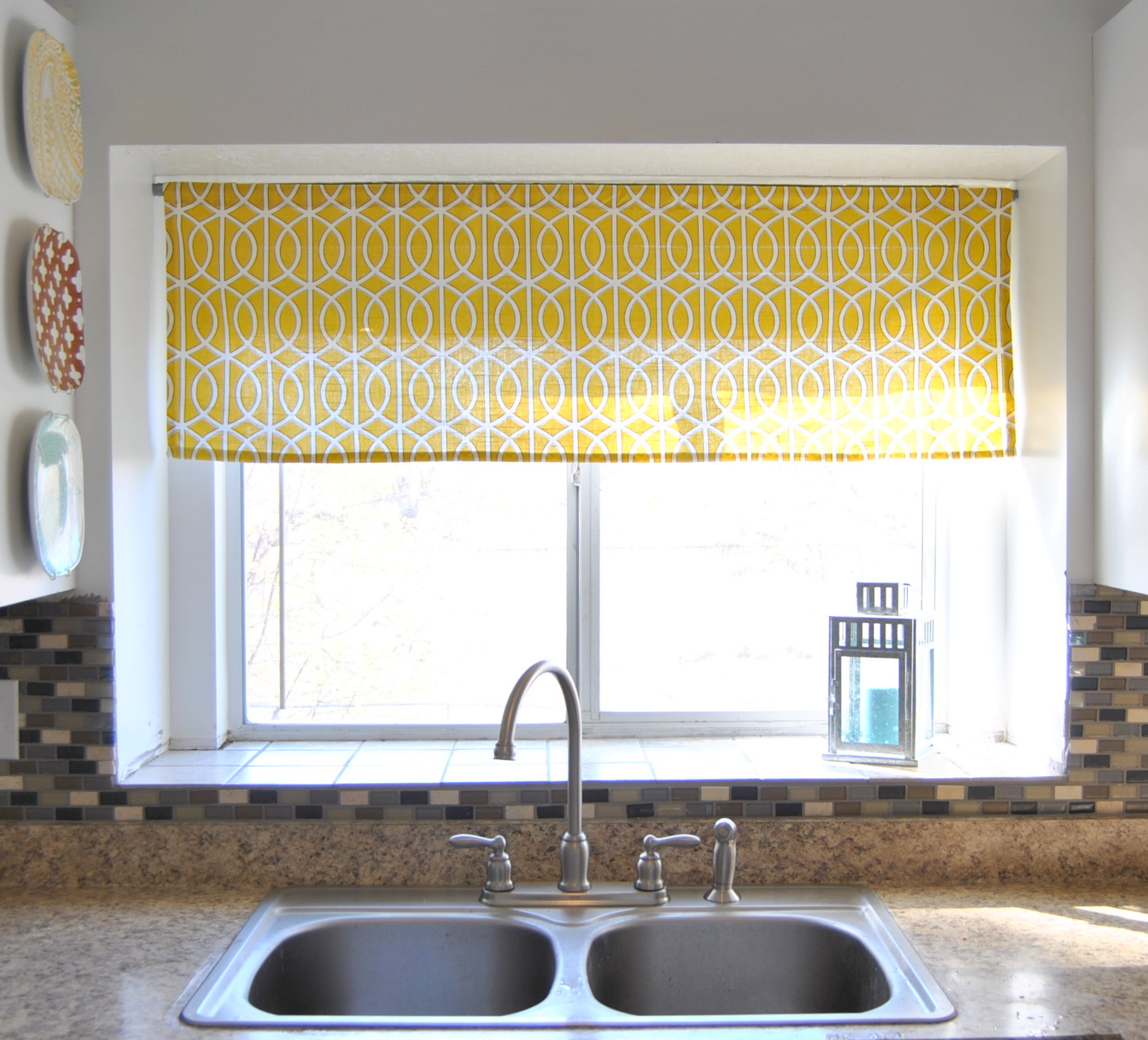 DIY Kitchen Window Curtain Ideas