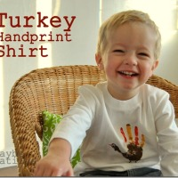 Make a Turkey Shirt for Thanskgiving!