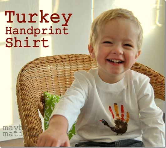 Turkey Handprint Shirt